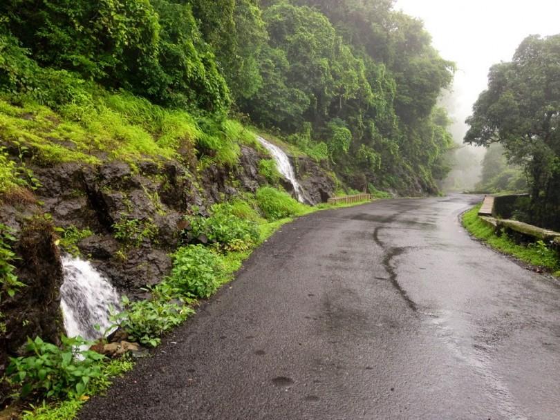 Monsoon Season Roads in Goa
