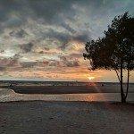 varca goa beach sunset