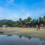 palolem india goa beach nature