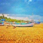 benaulim india goa beach