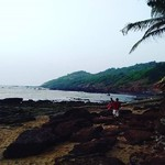 @instagram: #travel #goa #india #beach #baga #bagabeach