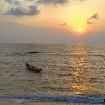 beach sunset holi