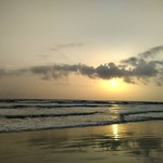 varca goa sunset