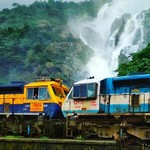 dudhsagar india goa falls