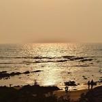 vagator india goa nature sunset beautiful