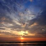 @instagram: #coloursofthesky #sunsets #beachlife #tranquilbeaches #varca