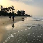 goa beach morning sunrise
