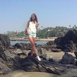 @instagram: ????Пляж Vagator, ГОА, Индия.  Кто хоть немного интересовался ГОА, знает, что по побережью всего штата тянутся пляжи. Вроде бы ничего необычного для прибрежной территории. Но... сегодня на работе вспомнили нейромаркетинг. И я поняла, что пляжи ГОА - это и