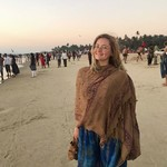 colva india goa beach sunset