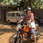 @instagram: 고아에 오시면 오토바이 필수, 머슴아 아입니더 #인도 #고아 #안주나 #india #goa #anjuna #여행에미치다