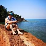 @instagram: Любите ли вы море так, как люблю его я?!) #море #аравийскоеморе #океан #гоа #индия #лето #отпуск #отдых #goa #india #sea #candolim #кандолим