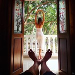 @instagram: Все таки отличный вид открывался прямо с постели в предыдущем домике) #Goa #siolim #lifestyle #modelling