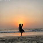 cavelossim india goa beach sunset