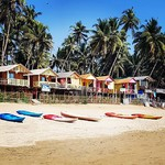 palolem india goa beach trip beautiful