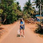 @instagram: Я и улица шириной в тротуар #goa #colva #colvabeach #colvabeachgoa #beach #beachgoa #india #indiana