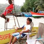 @instagram: #lifeguard #relaxed #palolem