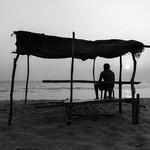 agonda india goa beach sunset