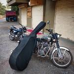@instagram: Music journey is over.. Thank you, #india #livemusic #musiciansgoa #royalenfield #siolim #goa #jazzingoa #doublebassgoa