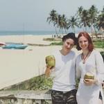 @instagram: Съездили на соседний пляж, увидели изобилие фруктов и местных магазинов)) #гоа #индия #колва #отдых #моярадость #colva #goa #india