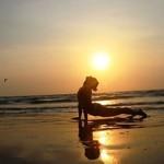 @instagram: Счастье — это когда душа перестает просить то, чего у нее нет, и начинает радоваться тому, что есть. #татапутешественница #извчера #goa #india #yoga #yogabeach #arambol #arambolbeach #beach #beachgirl #girls #girl #kirovgirl