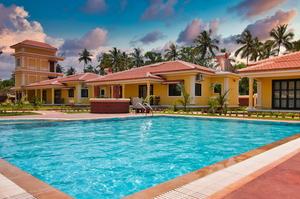 3 bedroom villa in Vagator