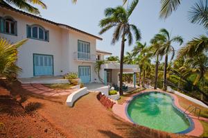 Comfortable 4 bedroom villa in Vagator