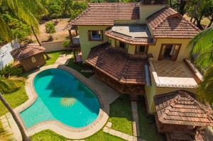Comfortable 4 bedroom villa in Morjim