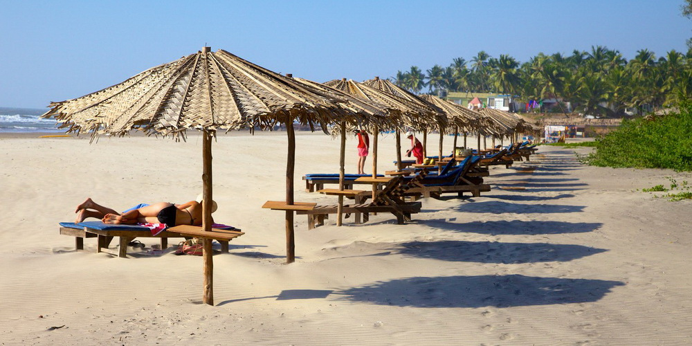 Пляж Ашвем Гоа