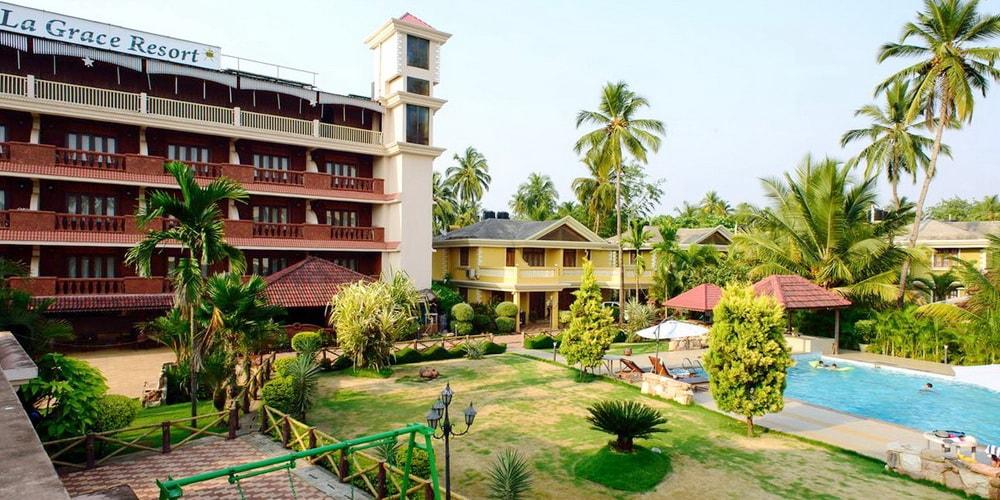 Отель La Grace Resort в Бенаулиме Гоа
