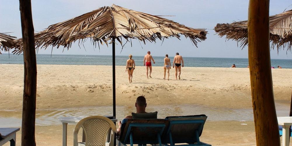 Пляж Мажорда в Южном Гоа